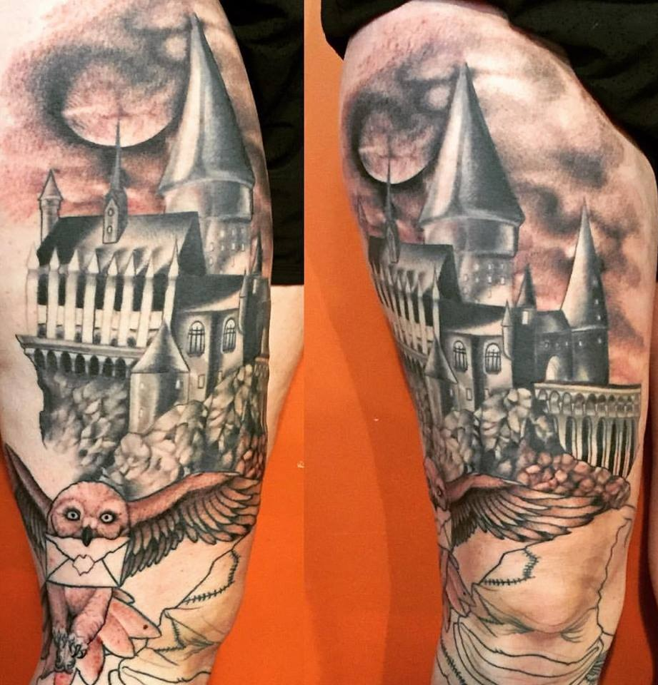 Harry Potter leg sleeve