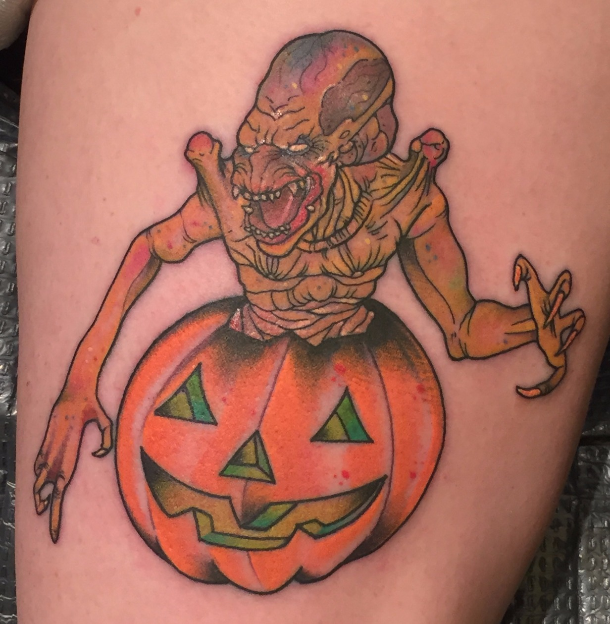 Pumpkinhead in Pumpkin
