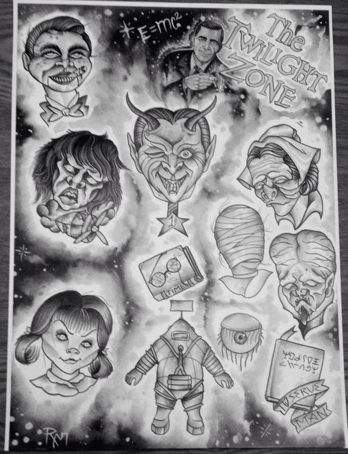 Twilight Zone Flash Sheet