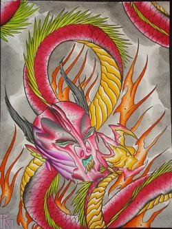 Japanese Hell Serpent