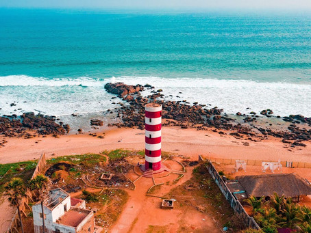 Drone Shots of a Deserted Vizag: Videos and More