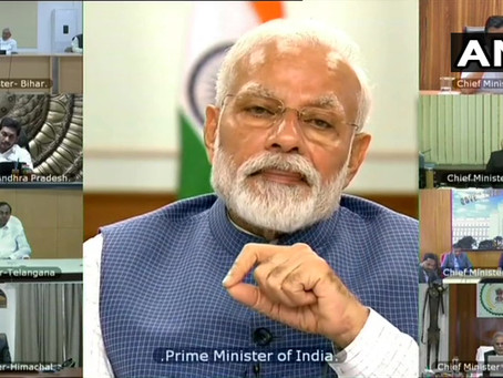 May 3rd - Will the Lockdown End? PM Hints at Graded Lockdown