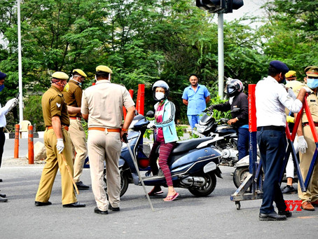 Over 50,000 cases Booked by Vizag Police