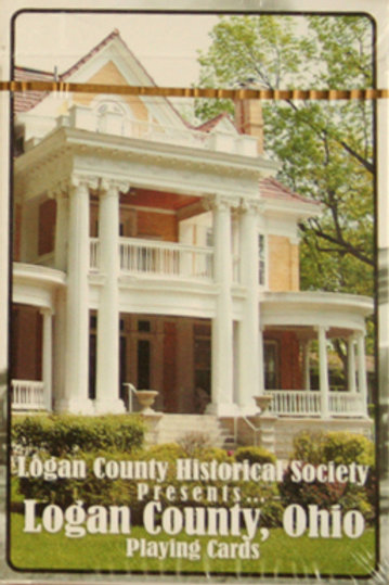 Orr Mansion -Logan County Playing Cards - with Historic Photos