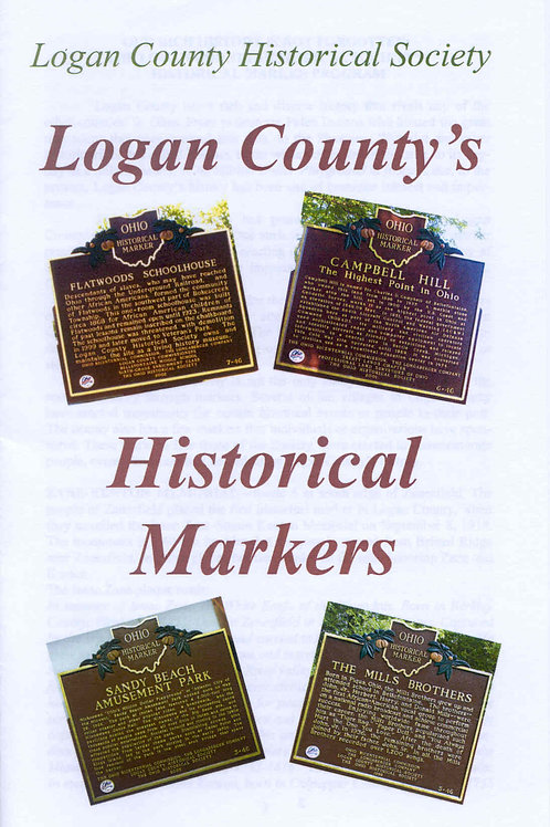 Logan County Historical Markers -Booklet
