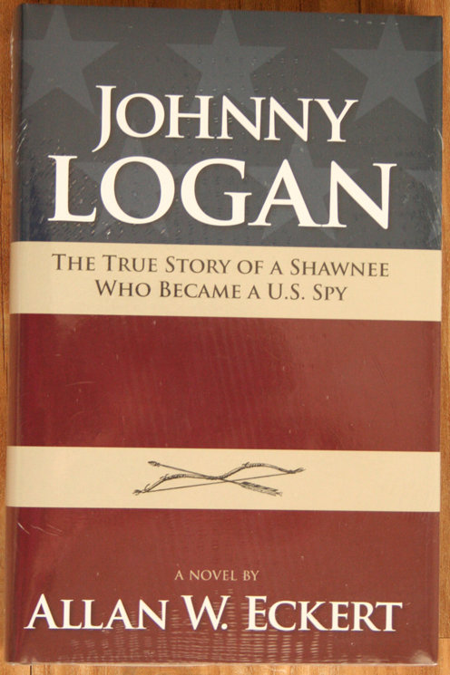 Johnny Logan by Allan Eckert -Hardcover