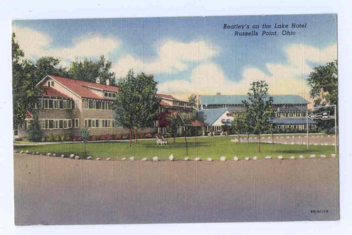 Postcard 9B-H1119 Beatley's on the Lake Hotel _Original