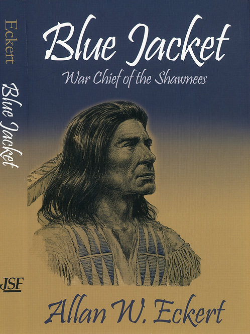 Blue Jacket by Allan Eckert -Softcover