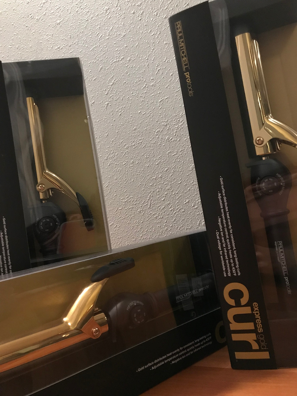Paul Mitchell Pro Tools Gold Curling Irons