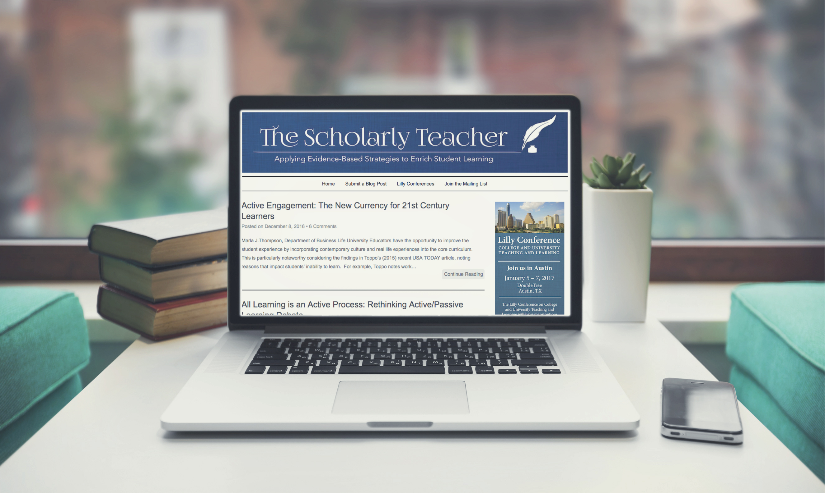 Scholarly Teacher Blog