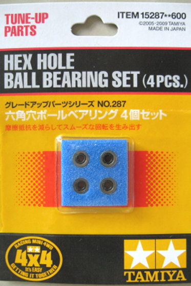 Hex Hole Ball Bearing Set