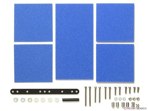 Brake Sponge Set Mild 1/2/3mm Blu