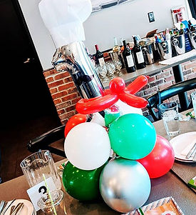 Hudson's Pizza Themed First Birthday tur