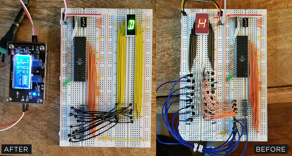 Comparing v3 and V2 BreadBoards