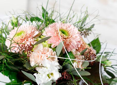 Unser Blumenfrisch Kärtchen