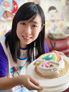 10-year-old cake for Rainbow Cross @2020