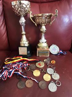 我由小學到現在的運動獎項