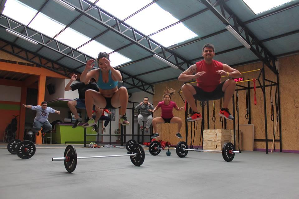 entrenamiento grupal fitness