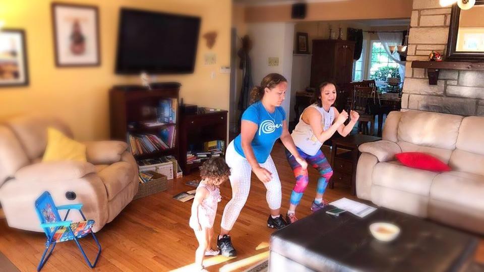 entrenamiento en casa fitness bajar de peso