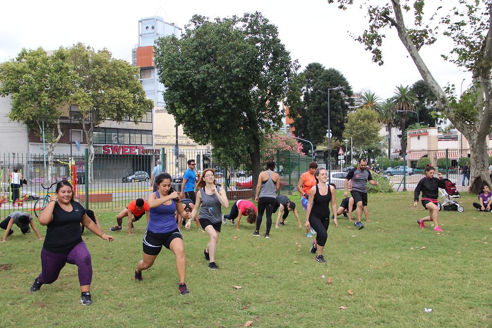 entrenamiento parque love fitness personalizado