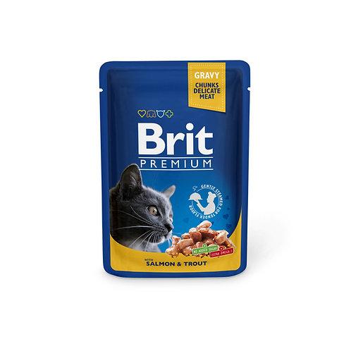 Brit Premium with Salmon & Trout.