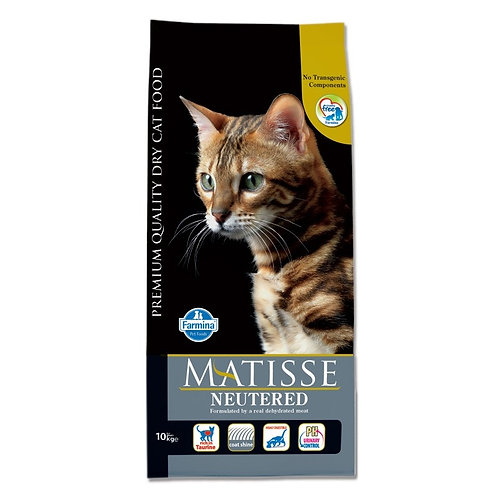 Matisse Neutered Cбалансированный корм для стерилизованных  кошек 1 кг, 10 кг