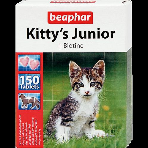 Кормовая добавка Kitty's Junior с биотином для котят 150 таб.