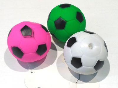 Мяч футбол, винил с пищалкой 6cm