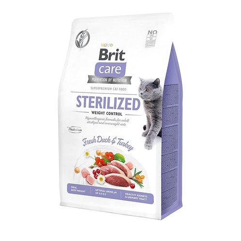 Brit Care Cat GF Sterilized Weight Control
