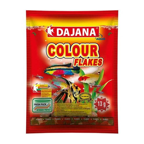 Dajana Colour Комплексный корм для аквариумных рыбок для яркого окраса