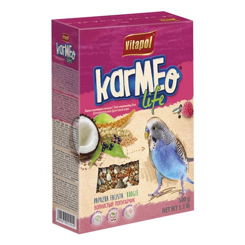 Корм Vitapol KARMEO Life для волнистых попугаев фруктовый
