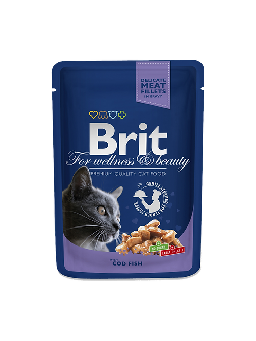 Brit Premium with Cod Fish.