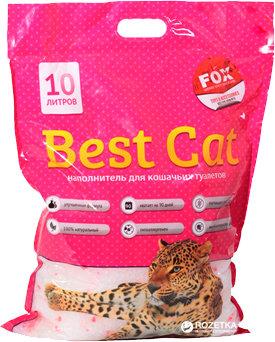 Наполнитель для кошек, силикагель Best Cat Pink Flower