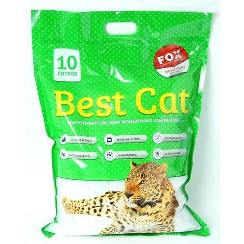 Наполнитель для кошек, силикагель Best Cat Green Apple