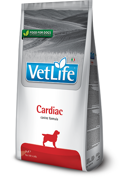 Vet Life Cardiac Поддержание работы сердца при сердечной недостаточности 2кг