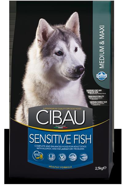 CIBAU SENSITIV FISH MEDIUM&MAXI Для взрослых собак средних и крупных пород
