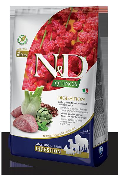 N&D DIGESTION LAMB ADULT ALL BREEDS Для чувствительного пищеварения 7кг