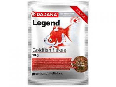 Dajana Legend Goldfish Flakes Корм для золотых аквариумных рыбок