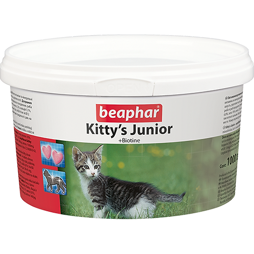Кормовая добавка Kitty's Junior с биотином для котят 1000 таб.