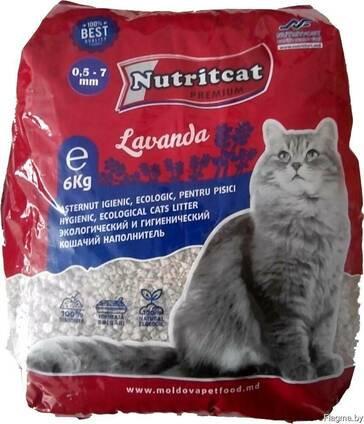 Nutritcat комкующийся наполнитель для кошачьих туалетов