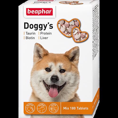 Кормовая добавка Doggy's MIX для собак (+ Taurin-Biotin + Protein + Liver) 180 т