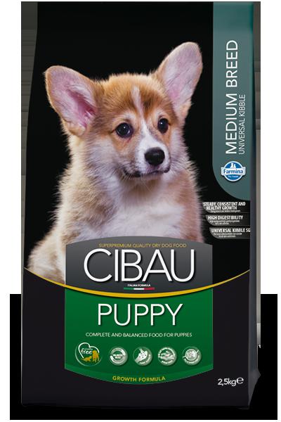 CIBAU PUPPY MEDIUM Для щенков средних пород 12кг