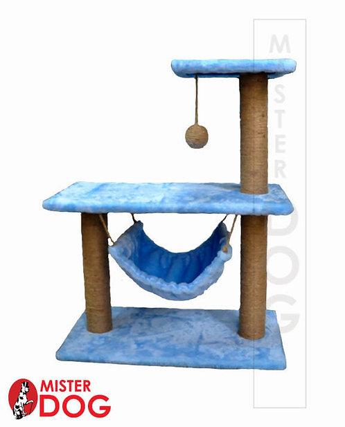 Игровой комплекс для кошек с гамаком
