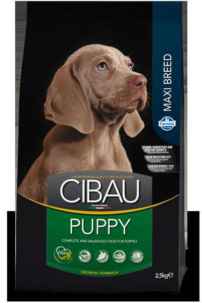 CIBAU PUPPY MAXI Для щенков крупных и гигантских пород с момента отъема 12кг
