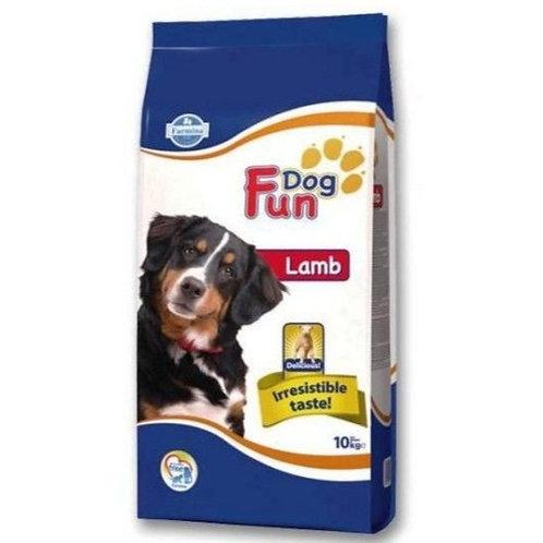 Fun Dog  LAMB ADULT Полнорационный корм для взрослых собак Ягненок 10кг