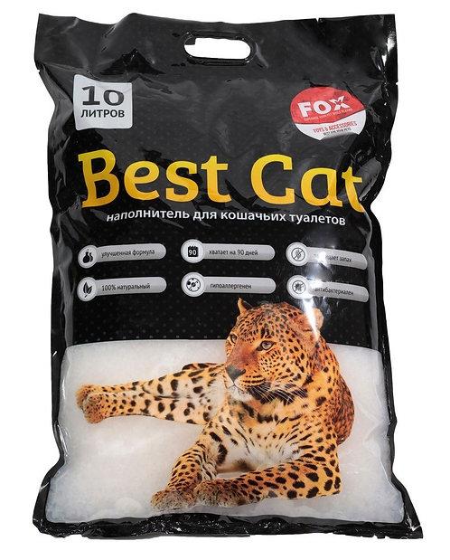 Наполнитель для кошек, силикагель Best Cat White