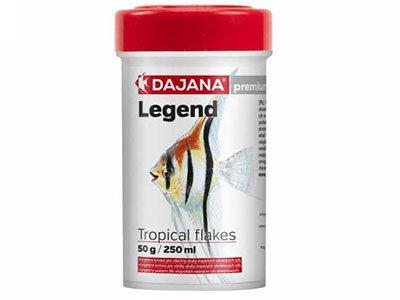 Dajana Legend Tropical Flakes Корм для аквариумных рыбок