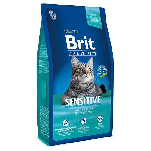 Premium Cat Sensitive с ягненком для кошек с чувствительным пищеварением