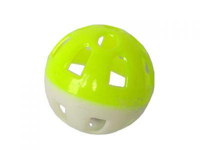Мяч пластиковый двухцветный