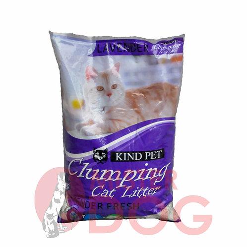 Комкующийся наполнитель Kind Pet Clumping Cat Litter Лаванда 5L